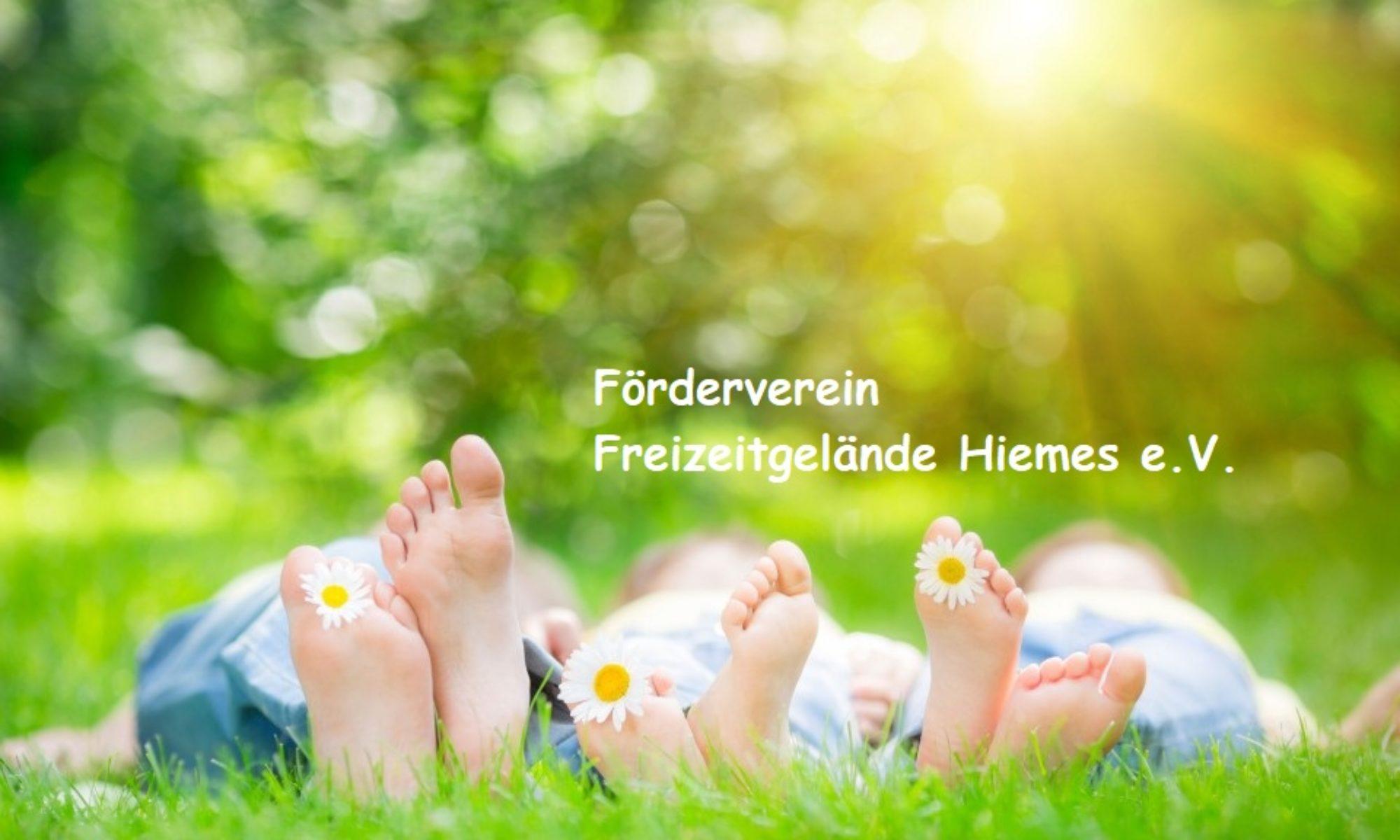 Förderverein Freizeitgelände Hiemes e.V.